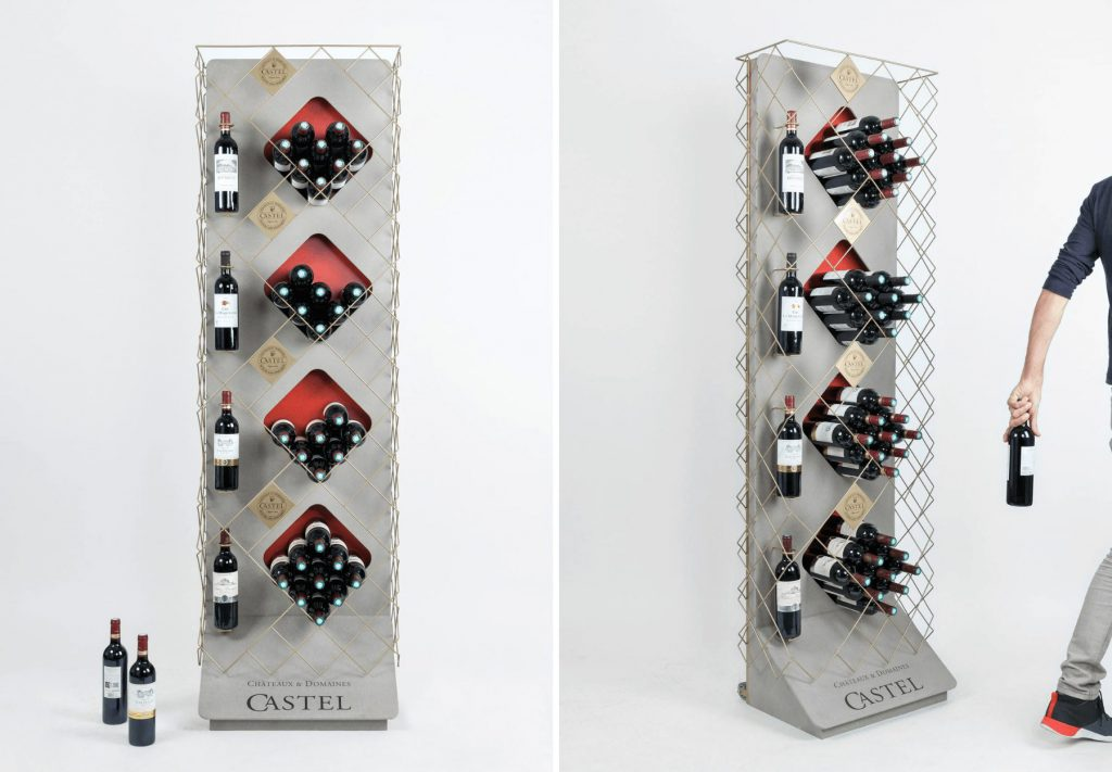 Wine Retail Displays Manufacturer - Golden State Box Factory